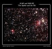 IC417 & SH2-237 - The Spider and the Fly